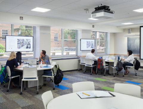 UW Instructional Classroom Remodeling Madison Wisconsin